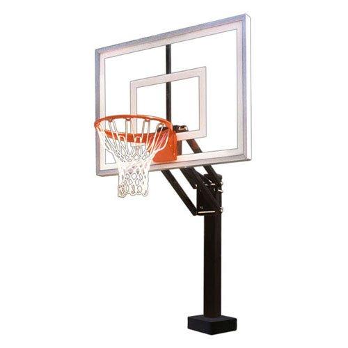 First Team HYDROCHAMP III Adjustable Pool Side Basketball Hoop