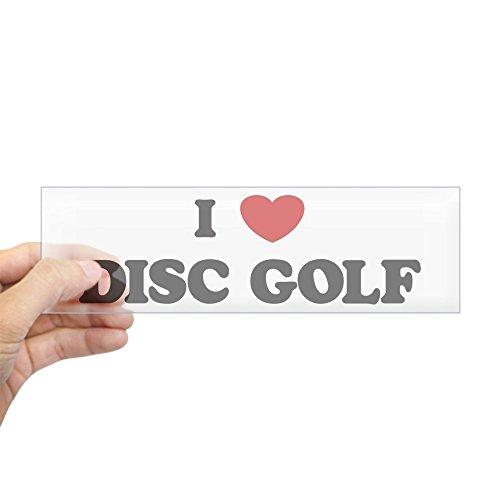 CafePress I Love Disc Golf Bumper Sticker 10