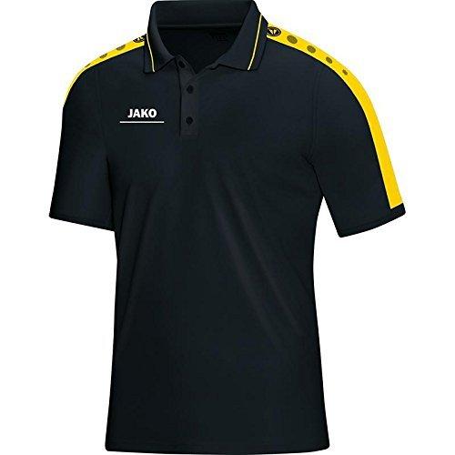 Jako STRIKER Women's Polo Shirt Multi-Coloured schwarz/Citro Size:42-44 (EU) by Jako