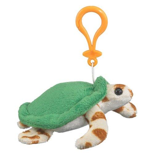Wildlife Artists Green Sea Turtle Plush Sea Turtle Stuffed Animal Backpack Clip Toy Keychain