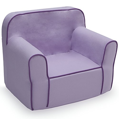 Delta Children Foam Snuggle Chair, Purple (Chair Old Lounge)
