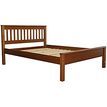 bedz king full bed mission style espresso