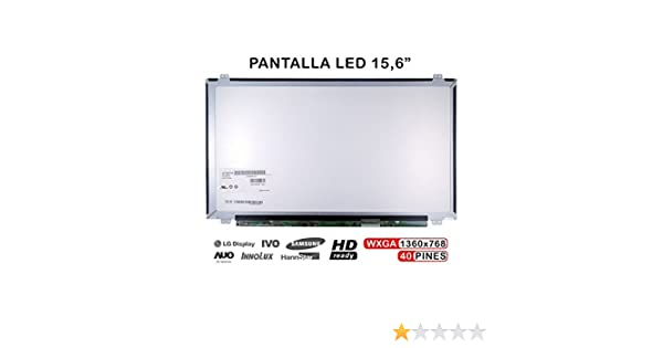Portatilmovil - Pantalla para PORTÁTIL Toshiba Satellite L50B, L50-B-11W HD LTN156AT35-T01: Amazon.es: Electrónica