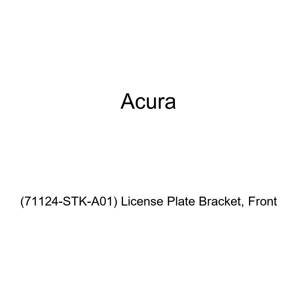 License Plate Bracket Front 71124-STK-A01 Acura Genuine