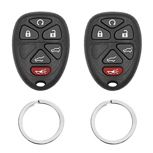 Keyless Entry Remote Start Car Key Fob Replaces# - 22733524 KOBGT04A,- Fits Chevy Cobalt Malibu/Buick Allure Lacrosse/Pontiac G5 G6 Grand Prix Solstice/Saturn Aura Sky 2005 2006 2007 2008 2009