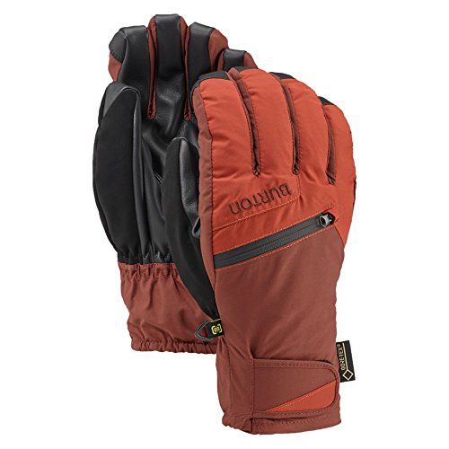 Burton Gore-Tex Under Gloves, Picante/Matador, Small (Stretch Mittens Gore)