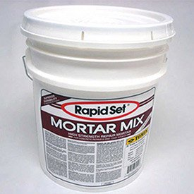 JE Tomes RSMM-55P Rapid Set Mortar Mix, Concrete Repair, High Stregnth, 55 lb. Pail