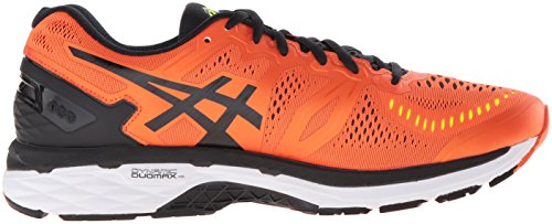 Asics Mænds Gel Kayano 23 Løbesko Flamme Orange / Sort / Sikkerhed Gul Al6D0lKHb
