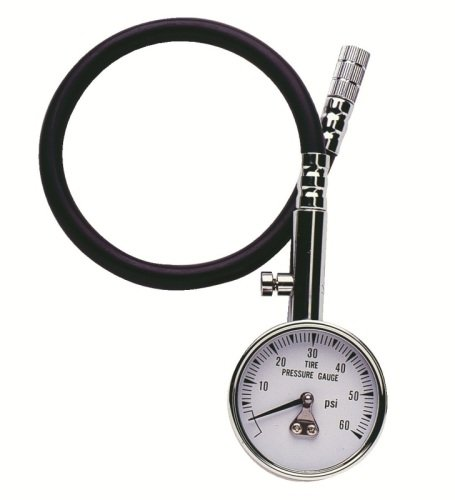 Professional Products 11102 0-60 PSI Tire Gauge with 12 Hose