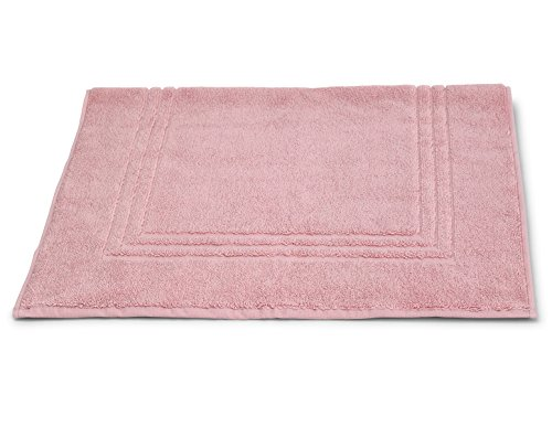 TowelSelections Blossom Collection Soft Towels 100% Turkish Cotton Blushing Pink Bath Mat