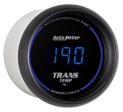 Auto Meter 6949 Cobalt Digital Transmission Temperature Gauge by Auto Meter (Image #1)
