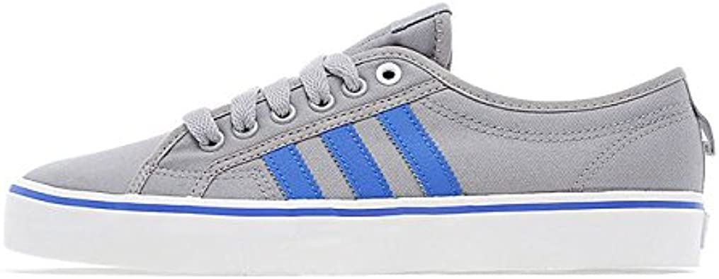 violinista distorsión canal  adidas Originals Nizza Lo Grey/Blue/White (UK 10.5 / US 11 / EU/F 45.1/3):  Amazon.co.uk: Shoes & Bags