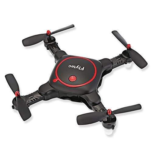 FLYSXP Mini Dron Plegable, Dron De Cuatro Ejes De Altura Fija ...