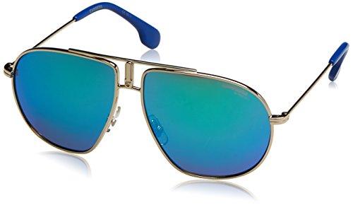 ino 21 Aviator Sunglasses, Light Gold, 54 mm ()