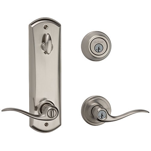 Kwikset 506TNL-15 Tustin Interconnected Entry Door Lock Satin Nickel Finish