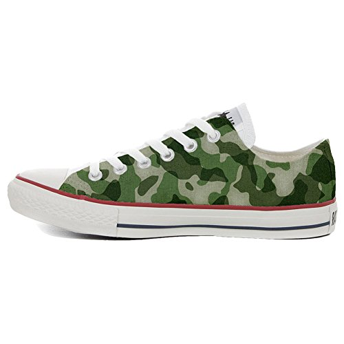 Converse Customized - zapatos personalizados (Producto Artesano) Slim Military Style