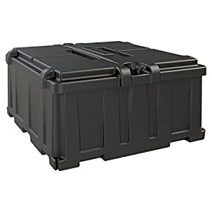 NOCO HM485 Dual 8D Commercial Grade Battery Box for Automotive, Marine and RV Batteries