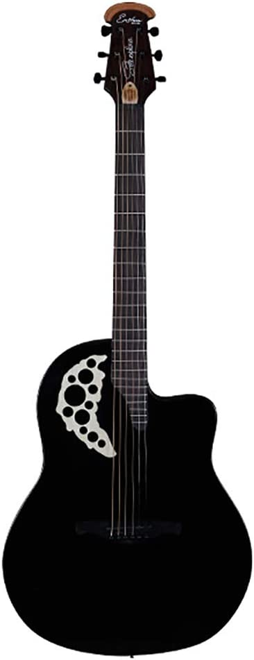 2019 Nueva Guitarra Folk Guitarra Eléctrica De Caja Agujero De ...