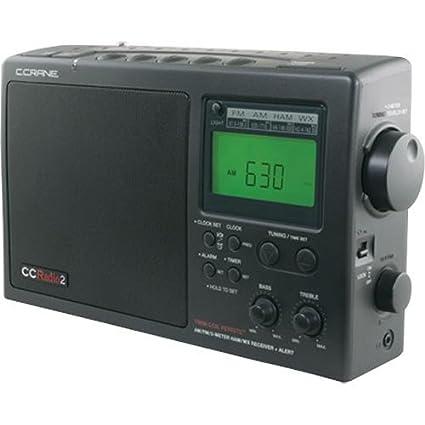 Amazon com: C Crane Co CC2B Radio-2 AM FM/Weather and 2-Meter Ham