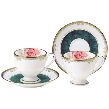 NARUMI カレス コーヒーカップ&ソーサーペア 210cc 8873-20861 B00CHJBGK0
