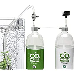 DIY Pressurized CO2 System --- Effective CO2 Generator Kit by SunGrow - Includes caps, valves, 3-way connector, tubing & pressure gauge - Creates a Healthy Underwater Habitat for Aquatic Pets & Plant