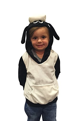 (ComfyCamper Sheep Hoodie Costume Sweatshirt Boys/Girls)