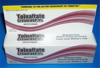 Tolnaftate Antifungal Professional Athlete's Athletes Foot Cream -0.5 Oz / 14g-, Case of 72