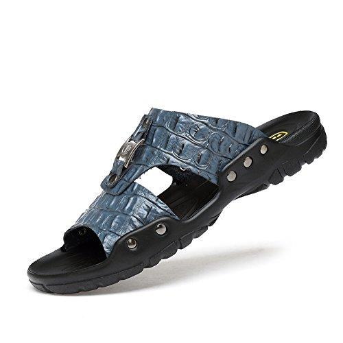 Xing Lin Sandalias De Hombre Zapatillas De Gran Tamaño 50 Hombres De Verano Al Aire Libre, Además De Fertilizante 47 Flip Flops Zapatillas Blancas 48 45 49 Inicio Xl 46 blue