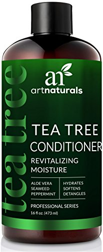 ArtNaturals Tea Tree Conditioner - (16 Fl Oz / 473ml) - Sulfate Free – Made with 100% Pure Therapeutic Grade Tea Tree Essential Oil.