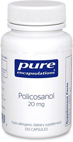 Pure Encapsulations Policosanol Hypoallergenic Cardiovascular