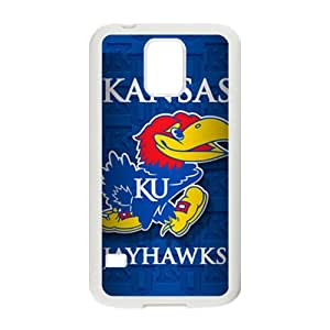 Kansas Jayhawks Brand New And Custom Hard Case Cover Protector For Samsung Galaxy S5
