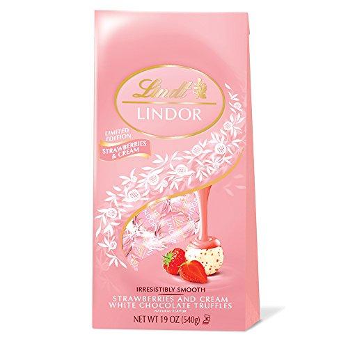 LINDOR Strawberries Cream Chocolate Truffles product image