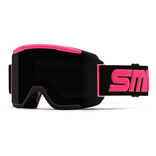 SMITH Squad Masque de Ski Mixte, Chrom Stevens Id/Black Out