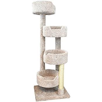 New Cat Condos Beige Large Cat Stairway