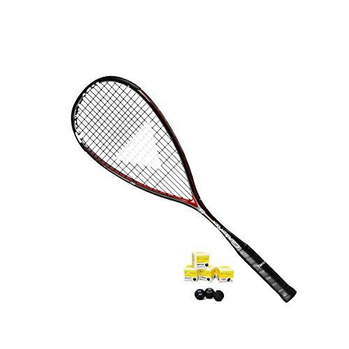 Tecnifibre Players (Tecnifibre Carboflex 125S Squash Racket inc 3 x Dunlop Pro XX Squash Balls)