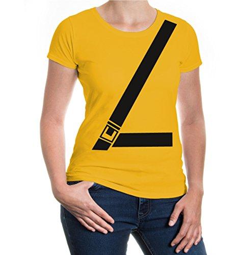Girlie T-Shirt Seat Belt sunflower
