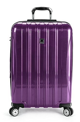Delsey Luggage Helium Aero 25 Inch Expandable Spinner Trolley (One Size, Purple) by DELSEY Paris