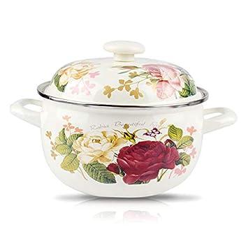 Cacerolas Cazo Ceramica Thick Enamel Stew Pot Milk Pot Hot ...