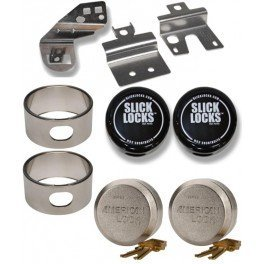 Slick Locks Chevy/GMC Sliding Door Kit Complete with Spinners, Weather covers and Locks by Slick Locks (Image #3)
