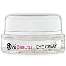 Best Eye Cream for Wrinkles with Hyaluronic Acid, Vitamin C, MSM, Glycolic Acid, Green Tea, Rosehip Oil and Coenzyme Q10