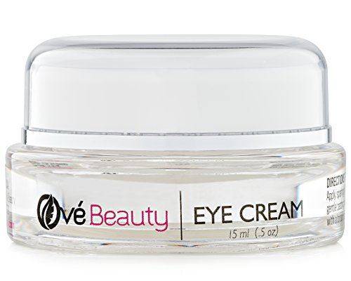 BEST EYE CREAM FOR WRINKLES, DARK CIRCLES and PUFFINESS with Vitamin C and Glycolic Acid. Enriched with Green Tea, Rosehip Oil and Coenzyme Q10 for Beautiful Skin With Superior Anti-wrinkle Results Image