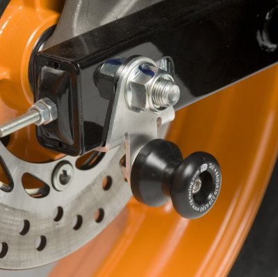 R/&G motorcycle Offset Type Cotton Reels//Paddock Stand Bobbins fits Honda CBR125 R 2011 on