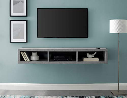 Martin Furniture IMSE360CT Floating Tv Console, 60