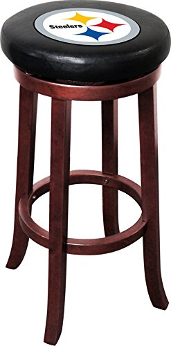(Imperial Officially Licensed NFL Furniture: Wooden Bar Stool, Pittsburgh Steelers)