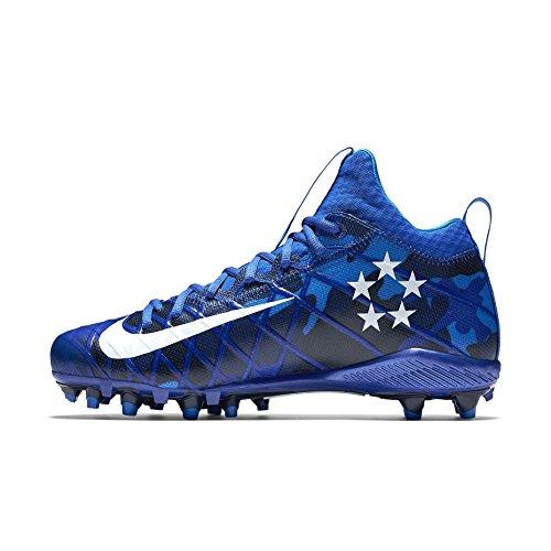 Nike Herren Feld Allgemein 3 Elite TD Fußballschuh Racer Blau / Schwarz / Omega Blau / Weiß