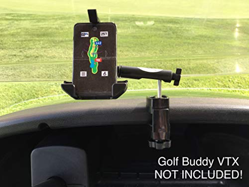 Golf Cart Mount/Holder for Golf Buddy VTX