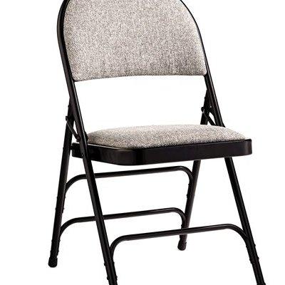 Samsonite 57316-1062 Comfort Series Padded Fabric Folding Chairs, Set of 4