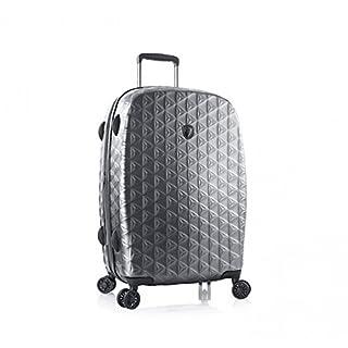 """Heys Motif Homme 26"""" Spinner Luggage Gunmetal"""