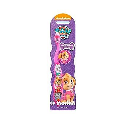 Lorenay LN-1110 - Cepillo de dientes para nina, estampado Paw Patrol