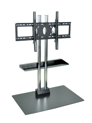 H WILSON WPSMS44SCH Universal LCD/Flat Panel Stand with - Tv Bretford Stand